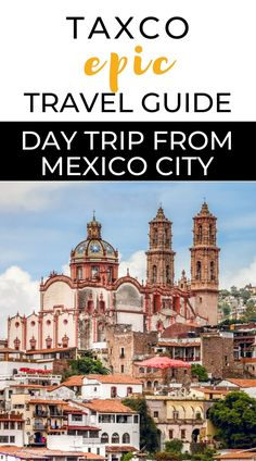 Take a day trip from Mexico City to visit, Taxco, the silver city, or spend a few days there to relax and enjoy the laid-back vibe. Taxco is a small mining city full of charms, with paved streets and colonial churches, and many natural attractions nearby. In this guide, you'll find everything you need to plan your trip to Taxco. Mexico vacations | Trip to Mexico | Things to do in Taxco | Pueblo Magico | Travel inspiration | Mexico Travel Guide | Bucket list places to visit in Mexico Mexico Vacation Outfits, Vacation Trips, Vacations, Central America, North America, Best Beaches In Mexico, All Inclusive Cruises, Silver City, Mexico Travel