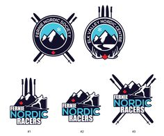 Logo Design by Mahtava Design for Nordic Ski Society & Race Team needs logos! - Design #3392932