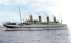 HMHS Britannic, an English hospital ship , by Markos Danezis