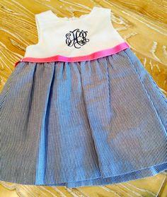Sweet Summer Monogrammed Dresses