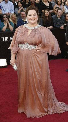 Melissa McCarthy on the red carpet.