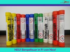 #Bengalfeuer in F1 von #Nico ganzjährlich im Shop erhältlich! #Feuerwerk, #Röder, #Silvester, #Onlineshop, #Feuerwerksbatterie