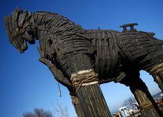 Trojan Horse Replica - Troy, Turkey  www.exoticdestinations.com.au