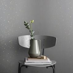 ferm living tapete confetti grau 10x053m - Fantastisch Tolles Dekoration Ferm Living Korb