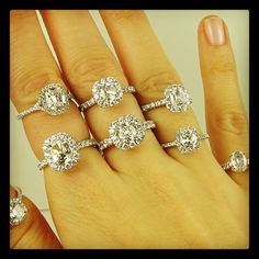 52 Best Engagement Diamond Rings Images In 2017 Diamond Rings