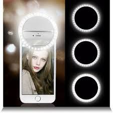 Makeup Mirrors Fast Deliver Flash Light Portable Mobile Phone 32 Leds Selfie Lamp Luminous Ring Cat Eye Shape Flash Led Camera Phone Enhancing Photography Fixing Prices According To Quality Of Products Beauty & Health