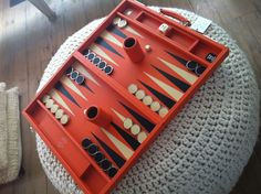 Backgammon love to play the game :) and if I must say so myself..real good :)
