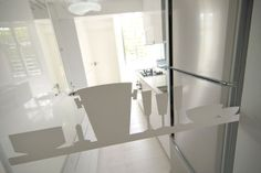 Apartment Design, Glass Windows Dimension At Kitchen Remodeling Space With 3 Door Cooler Pad Singapore Shoebox Flat Makeover By Knq Associat...