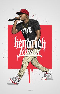 Kendrick Lamar on Behance