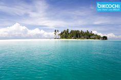 Malaysian tropical island with deep blue skies, crystal clear waters... #LTLB #bikooch