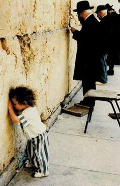pray for peace of Israel  that little child is so cute! Out of the mouth of babes