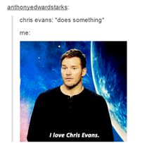 same. Funny Chris Evans humor