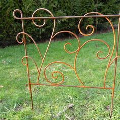 Etsy - Shop for handmade, vintage, custom, and unique gifts for everyone Metal Plant Hangers, Copper Tubing, Garden Trellis, Yard Art, Blacksmithing, Wrought Iron, Metal Working, Sculptures, Decoration