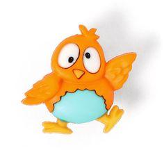 Plastic Button Platypus 1 - Orange Buttonsfavorable buying at our shop