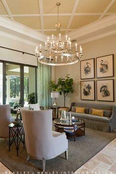 **Living Room**  -  Beasley & Henley Interior Design