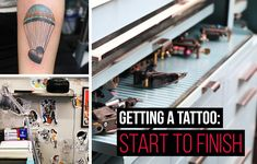 This Is What It's Like Getting A Tattoo (has nice reference for an after care / healing guide too)