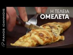 Master Class | Ομελέτα - YouTube Master Class, Little Bites, Frittata, Food Hacks, French Toast, Easy Meals, Food Porn, Brunch, Food And Drink