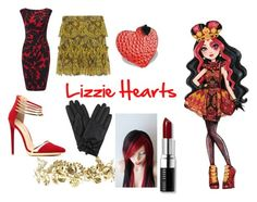 """""""Lizzie Hearts Closet Cosplay"""" by thecrystalheart on Polyvore featuring Phase Eight, Exclusive for Intermix, Fontanelli, Rosantica and Bobbi Brown Cosmetics"""