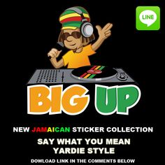 From iRIE iDRIN the digital patois sticker collection. Facebook@iRIE iDRIN download:http://line.me/S/sticker/1010292