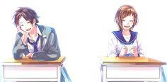 Zutto Mae Kara, Honey Works, Chasing The Sun, Anime Love, Vocaloid, Anime Couples, Character Design, Manga, Cartoons