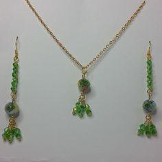 #jewelleryset#jewellery#goldplated#handmade#earrings#earring#necklace#pendant#necklacesandpendants#crystal#crystals#millefiori#millefioricrystals#green#blue#gold#yellow#orange#dangle#party#flower#charm#gift#giftforher#gifts#mothersday#giftformum#giftformom#copper#matchingjewellery#chain#shepherdhookearrings