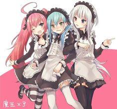 That Time I Got Reincarnated as a Slime / 転スラアニメ楽しみです! / July 2018 - pixiv Kawaii Anime Girl, Anime Art Girl, Manga Girl, Anime Girls, Lolis Anime, Anime Maid, Slime, Lolis Neko, Image Manga