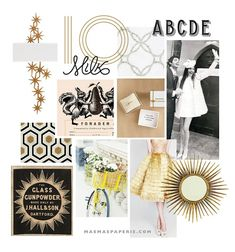 MaeMae's Mood + Method no. 1: yellow, gold, and plenty of cheer