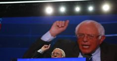 Bernie Sanders Faces Task of Putting Down Revolt He Started.
