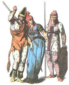 19th Century depiction of Scythian female warriors/Amazons