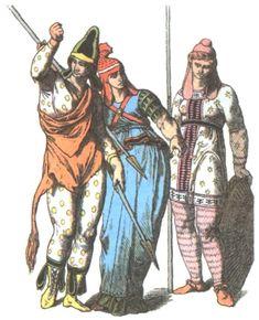 19th Century depiction of Scythian female warriors/Amazons