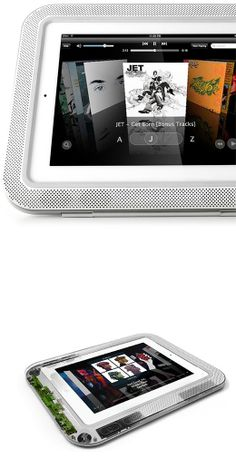 ORA AUDIO :: immersive and integrated sound system for your Apple iPad. With integrated protection, cover, battery and stand, all in a single beautifully crafted case.