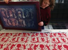 East London Printmakers Screenprint on fabric course  held at ELP: 19 Warburton Road, Hackney, London England E8 3RT