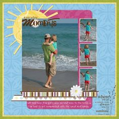 Simply Beautiful Scrapbook Page Layout Idea from Creative Memories    http://www.creativememories.com/Content/Shop/Catalog.aspx?pr=BrowseCategory=/Hierarchy/Digital%20Solutions