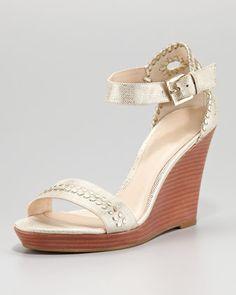 500bbe0fbc45 Harper Braided Wedge Sandal