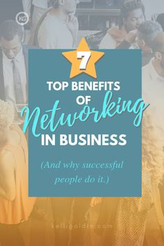 Should you be networking? Yes! Here's why successful people use networking to build their businesses. #KelliGoldin #network #workshop #seminar #conference #connections #leads #sales #clients #workathome #entrepreneur