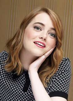 Emma Stone Daily — Emma Stone | Irrational Man Press Conference in...