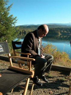 On the set of DeepWater (2005).   From: https://www.facebook.com/MichaelIronsideFanCommunity
