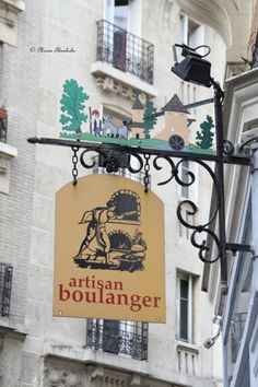 """Artisan boulanger """" welcome sign вывески. Francia Paris, Paris France, Entrance Signage, Sign O' The Times, French Signs, Deco Restaurant, Pub Signs, Shopping Street, Street Lamp"""