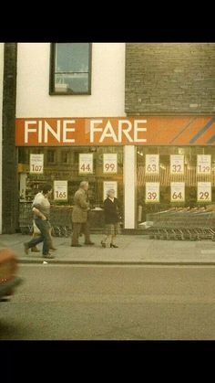 Who remembers Fine Fare?