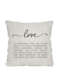 Surdic pillow Love Multicolored 45 x 45 cm