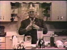 Original 1949 Vitamix Infomercial - Papa Barnard - YouTube