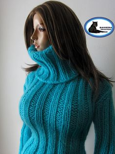 Thick Sweaters, Sweater Fashion, Turtle Neck, Wool, Nice, How To Wear, Inspiration, Collection, Biblical Inspiration