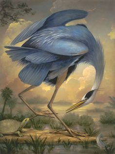 "By Kevin Sloan, Denver-based artist who focuses on the silent inhabitants of our world - the plants & animals - ""allegorical realism"""