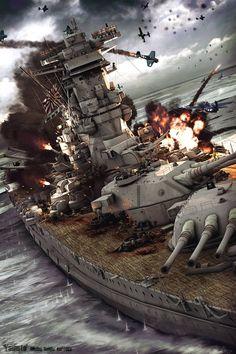 yamato battleship last battle - Szukaj w Google