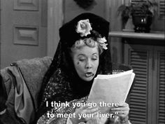 """Ethel """"I think you go there to meet your liver"""" Lucy """"Lover! in case you haven't noticed I love lucy! Watch Lucy, Love Is All, Love Her, I Love Lucy Episodes, Redhead Funny, William Frawley, Vivian Vance, Lucille Ball Desi Arnaz, America Funny"""