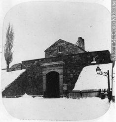 Photographie | Porte Saint-Louis, Québec, QC, vers 1860 | N-0000.193.41.1