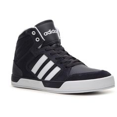 adidas NEO Raleigh High-Top Sneaker - Mens (205 BRL) ❤ liked on Polyvore  featuring men's fashion, men's shoes, men's sneakers, adidas mens sneakers,  adidas ...