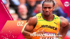 List of Top 10 Fastest Sprinters of All Time HD Video Watch online, The Fastest Sprinter record is Seconds. Fastest and Famouse Sprinters are Yohan Blak. Yohan Blake, All About Time, Boxer, Tank Man, Sports, Mens Tops, Hs Sports, Boxer Pants, Sport