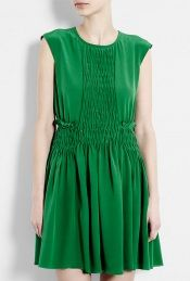 Silk Ruched dress, See by Chloe