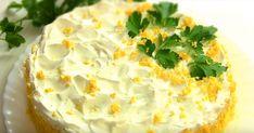 Γρήγορη, εορταστική Τούρτα σαλάτα για το Πάσχα Appetizer Salads, Finger Food Appetizers, Finger Foods, Appetizer Recipes, Dessert Recipes, Desserts, Cheese Pies, Camembert Cheese, Lemon Cheesecake
